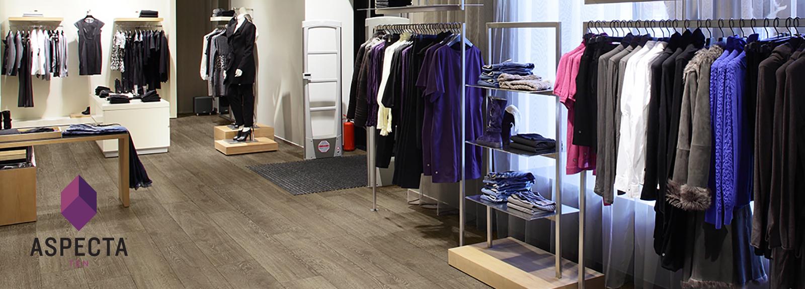 Store with Tally Oak Tan floors