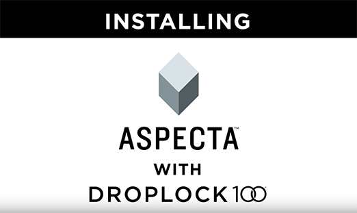 Installing Aspecta Multilayer Floors with DropLock 100