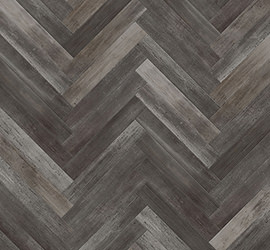 Washed Wood Patterned Floors Midnight swatch