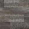 Damask Washed Wood  Midnight Black swatch