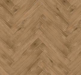 Perfect Oak - Herringbone Bogwood swatch