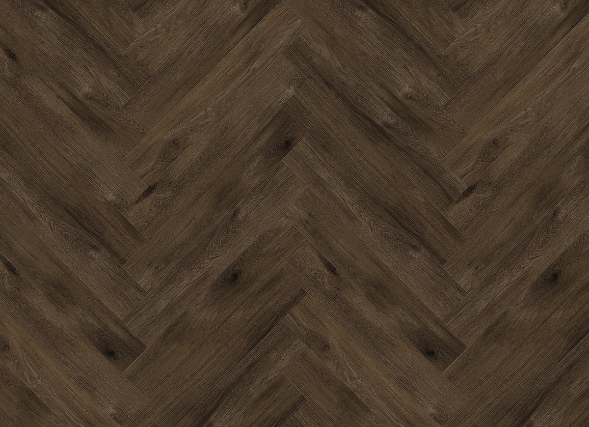 muestra de Perfect Oak Raven Brown tamaño completo