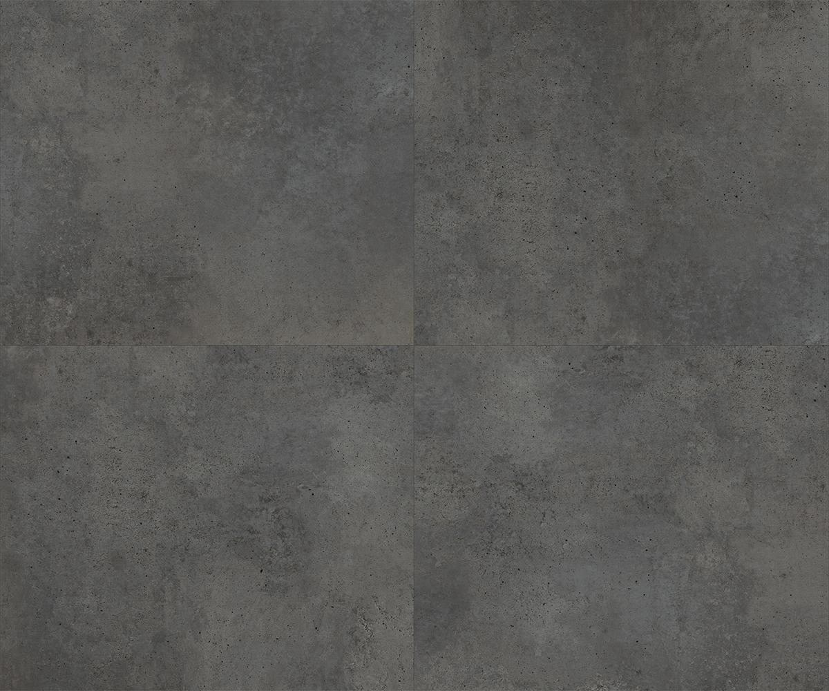 campione Washed Concrete 18x18 Zinca grandezza naturale