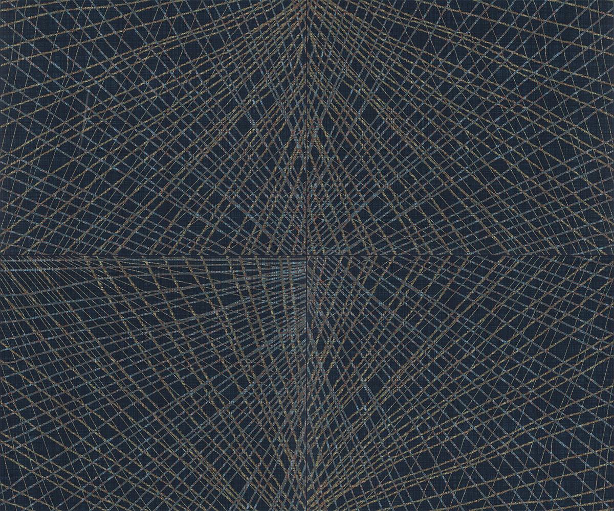 Muster: Tarnish Azure – volle Größe