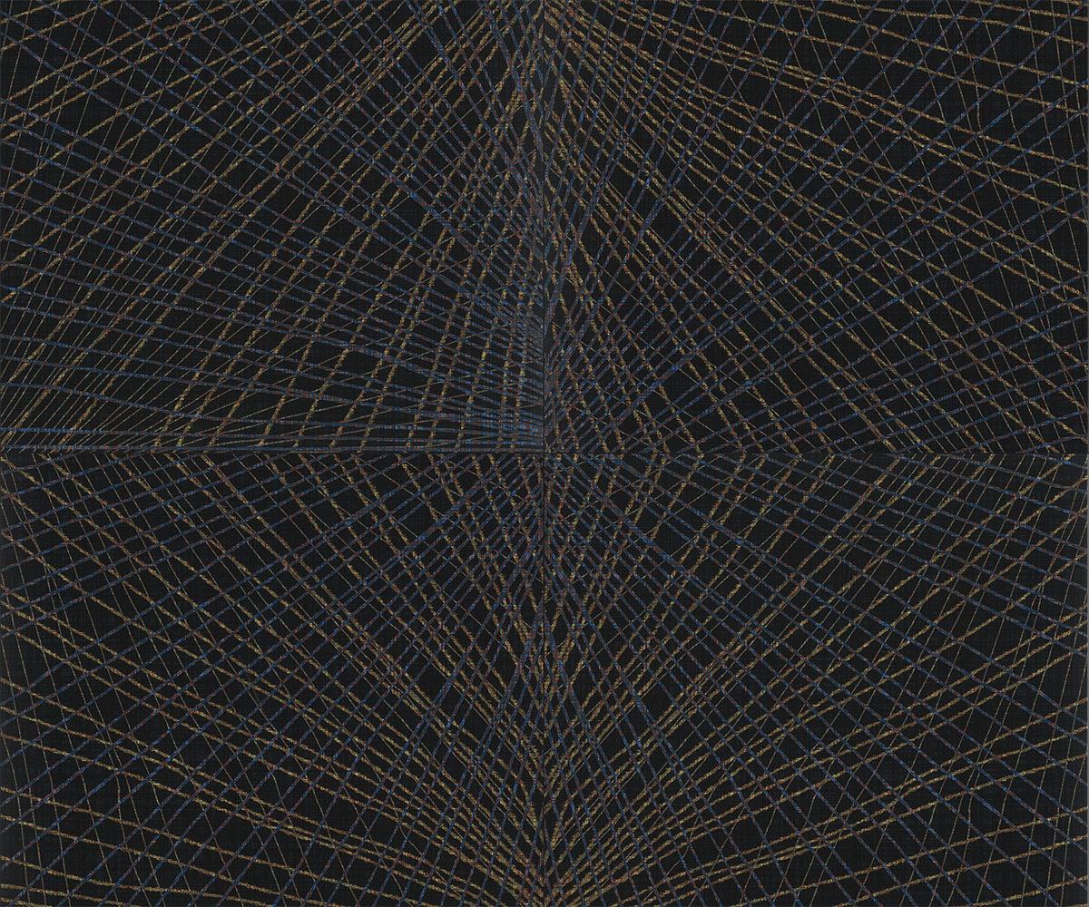 Muster: Careen Navy – volle Größe