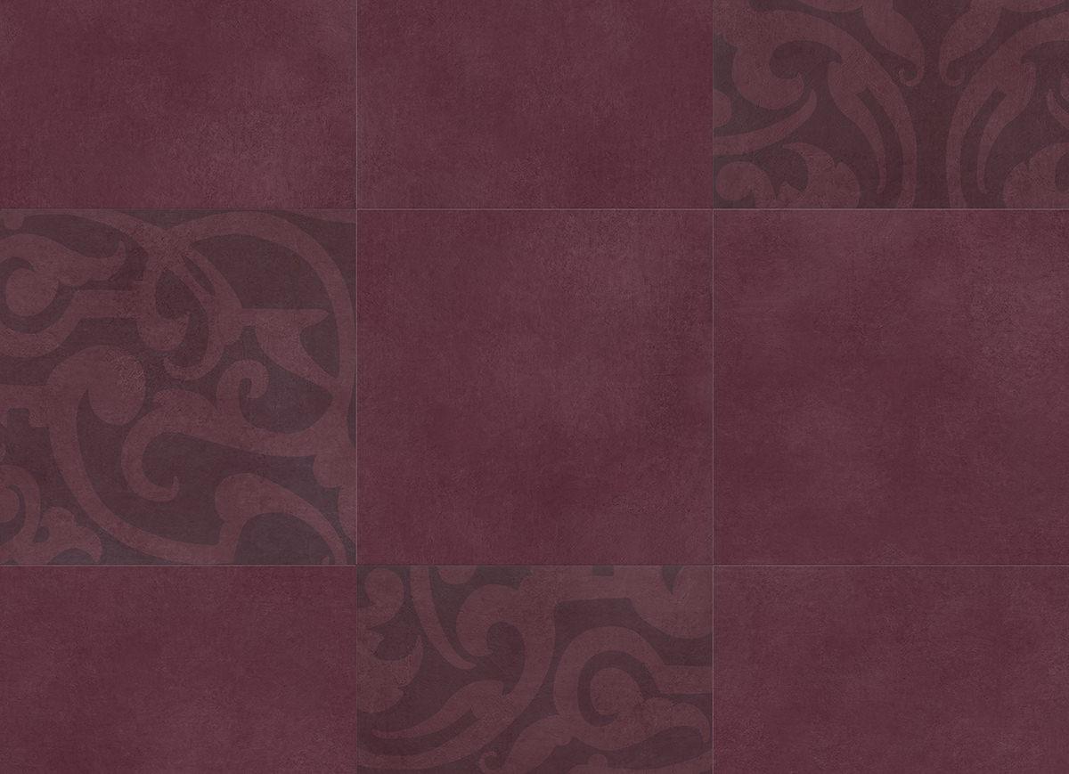 Muster: Midtown Prism Plum – volle Größe