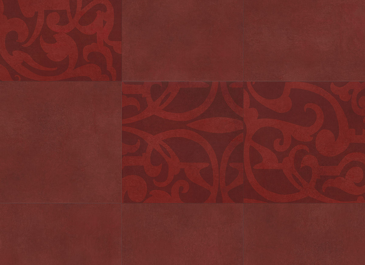 Muster: Midtown Prism Red – volle Größe