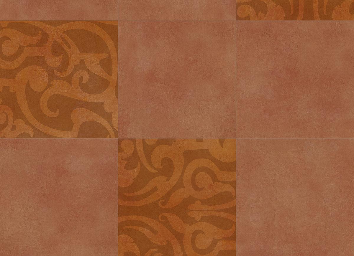 Muster: Midtown Prism Orange – volle Größe